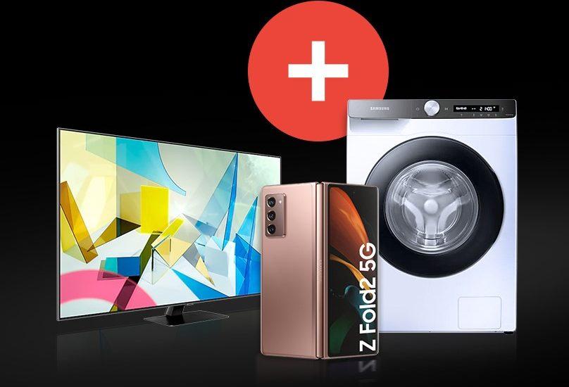 Samsung dáva ku Galaxy Z Fold2 5G práčky, TV a soundbary