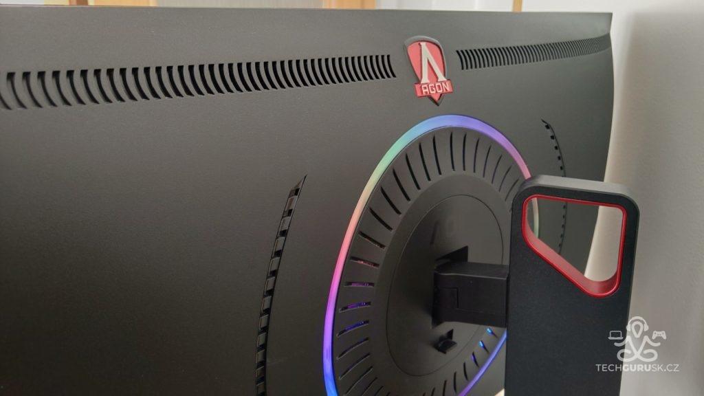 200 Hz herný monitor Agon AG353UCG recenzia