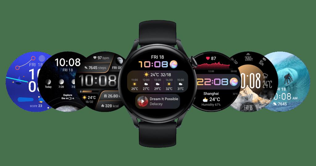 Huawei Watch 3 funkcie