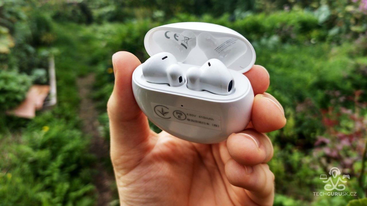 Huawei FreeBuds 4 sluchadla v nabijacom puzdre