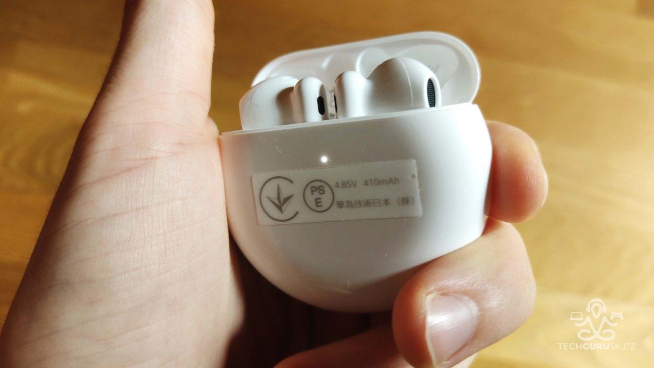 Huawei FreeBuds 4 nabijacie puzdro LED