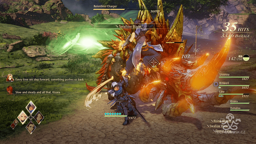 tales of arise fight