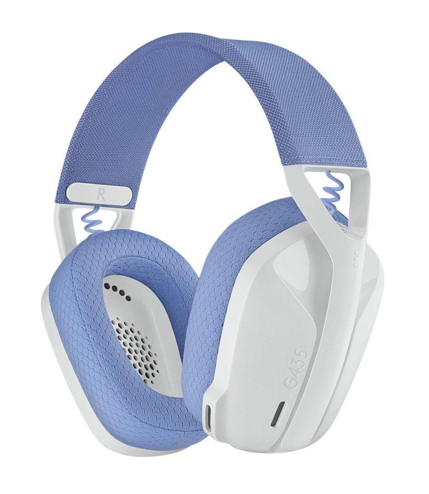 Logitech G představuje svůj nejlehčí a nejekologičtější bezdrátový herní headset G435