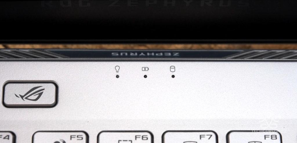 ROG Zephyrus G14 LED kontrolky